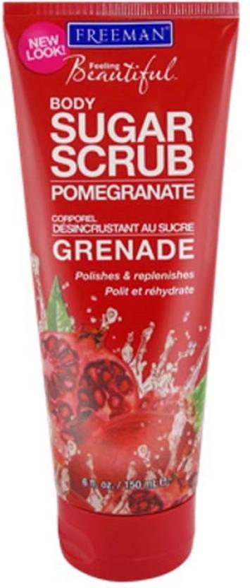Freeman Sugar Scrub Pomegranate