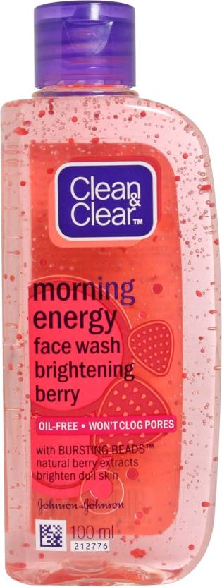 Clean & Clear Morning Energy - Brightening Berry Face Wash