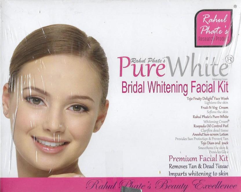 Bleach bright facial white