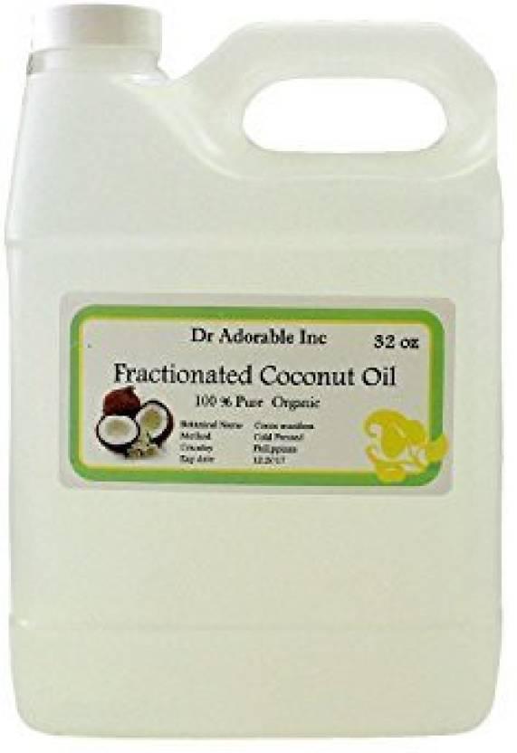 Dr Adorable Pure Fractionated Coconut Oil 32 Oz/ 1 Quart