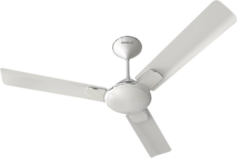b49f92618d0 Havells Enticer 3 Blade Ceiling Fan Pearl White Chrome