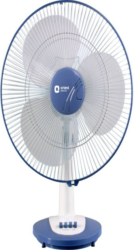 Orient 400 mm desk 25 3 blade table fan price in india buy orient orient 400 mm desk 25 3 blade table fan greentooth Gallery