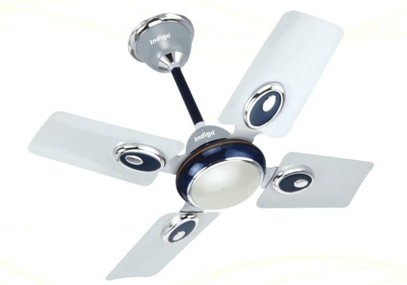 Indigo Small Wonder 600mm 24 4 Blade Ceiling Fan