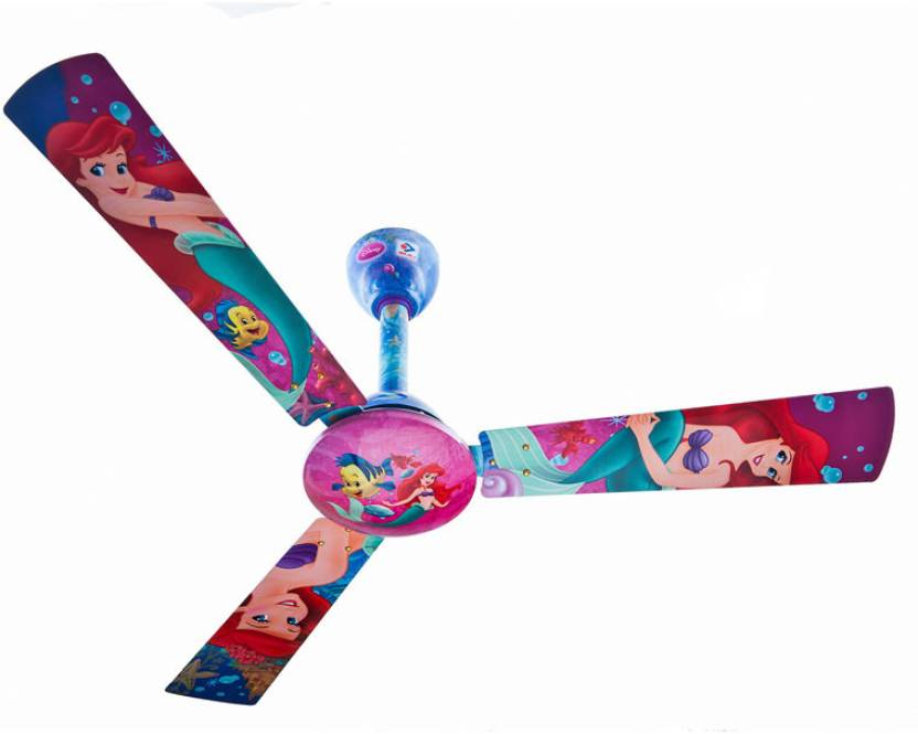 Bajaj Disney Little Mermaid 3 Blade Ceiling Fan
