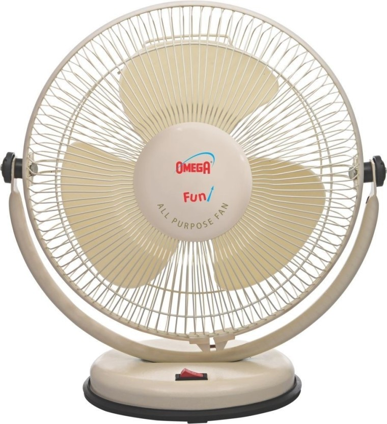 Beau Omega All Purpose 12 Inch 3 Blade Table Fan