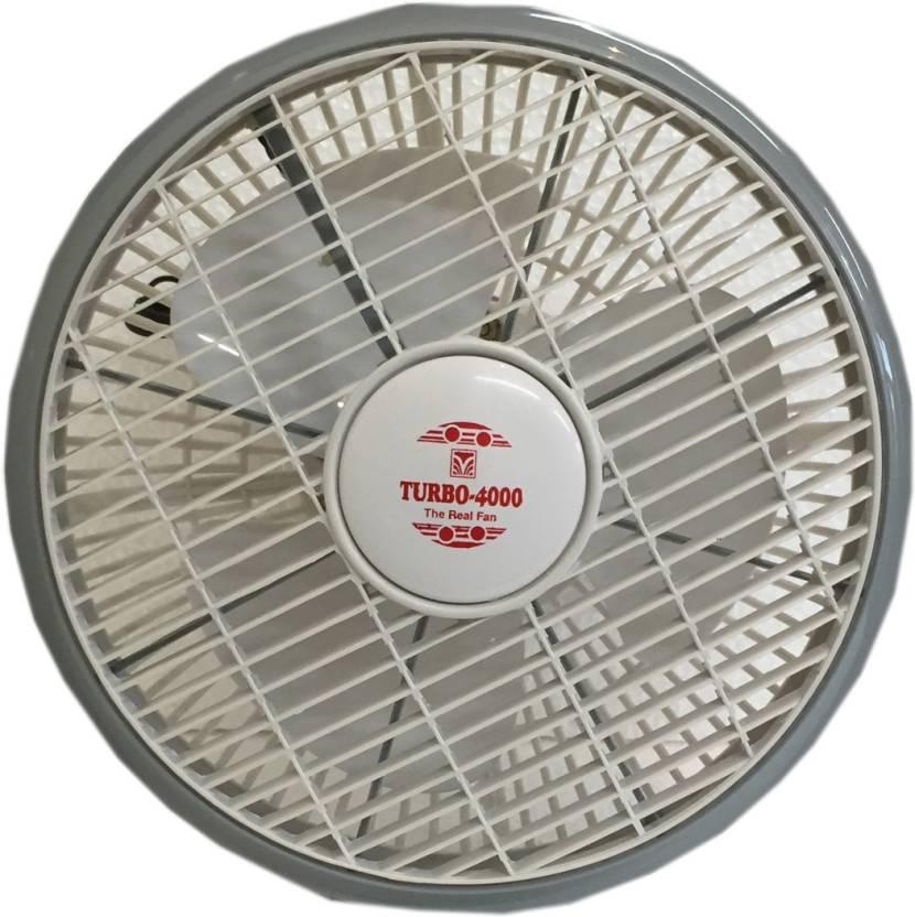 Turbo 4000 Cabin Rotor High Speed 12 inch 3 Blade Wall Fan
