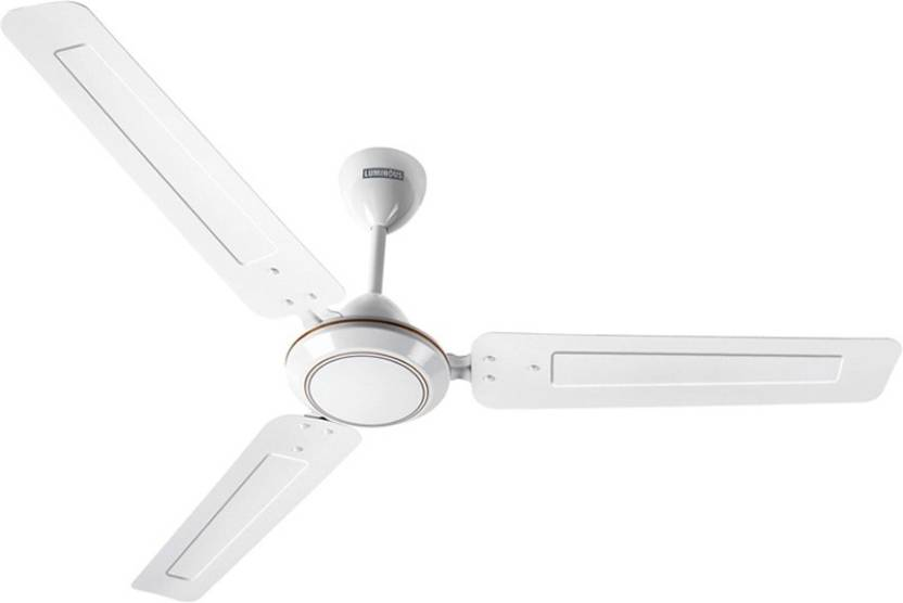 Luminous morpheus white 3 blade ceiling fan price in india buy luminous morpheus white 3 blade ceiling fan aloadofball Gallery