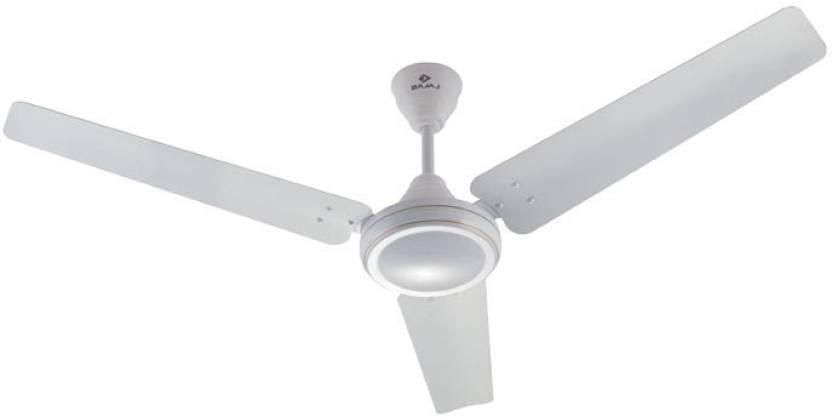 Bajaj Sdster 1200 Mm White 3 Blade Ceiling Fan