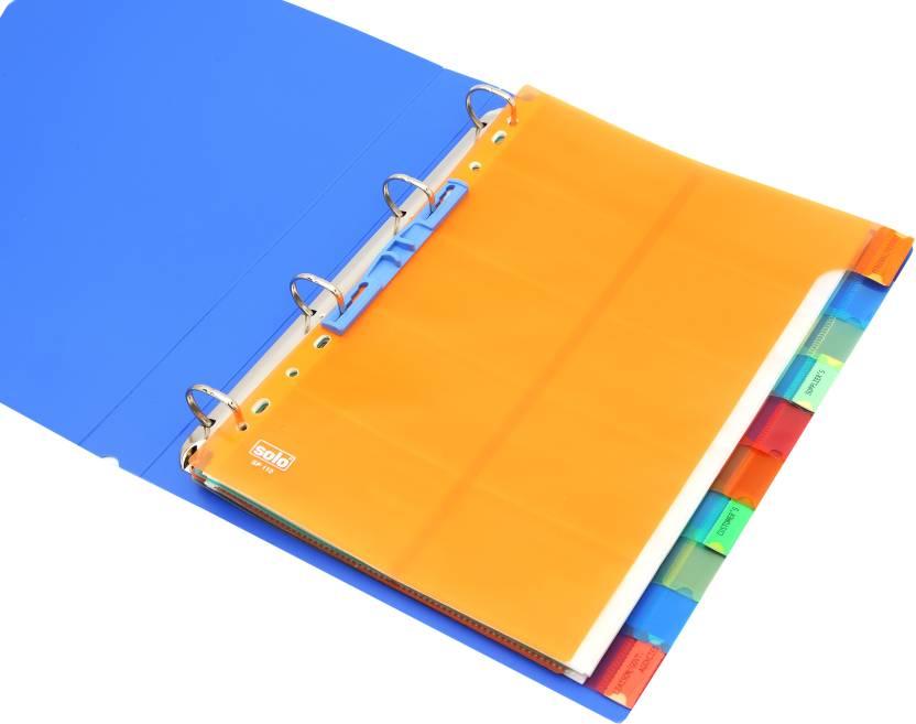 Solo Separator File