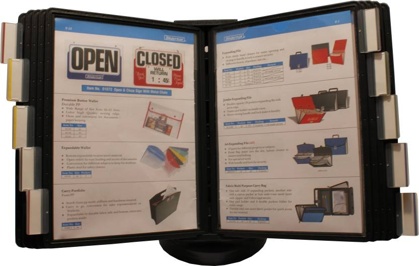 Bindermax Display File