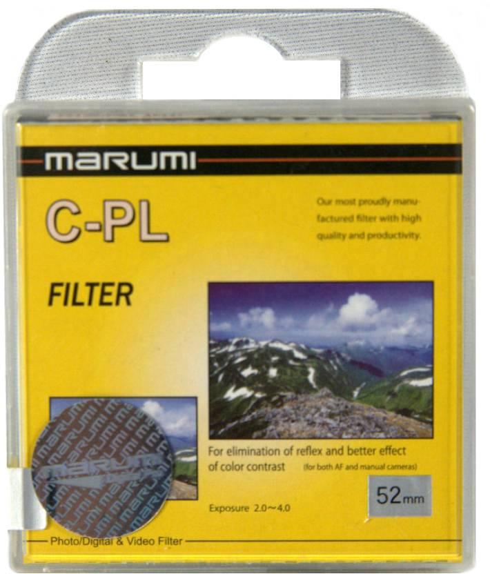Marumi 52 mm Circular Polarizer Polarizing Filter (CPL)
