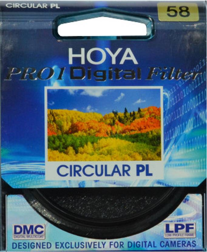 Hoya 58 mm Pro1 Digital Circular Polarizer Polarizing Filter (CPL)