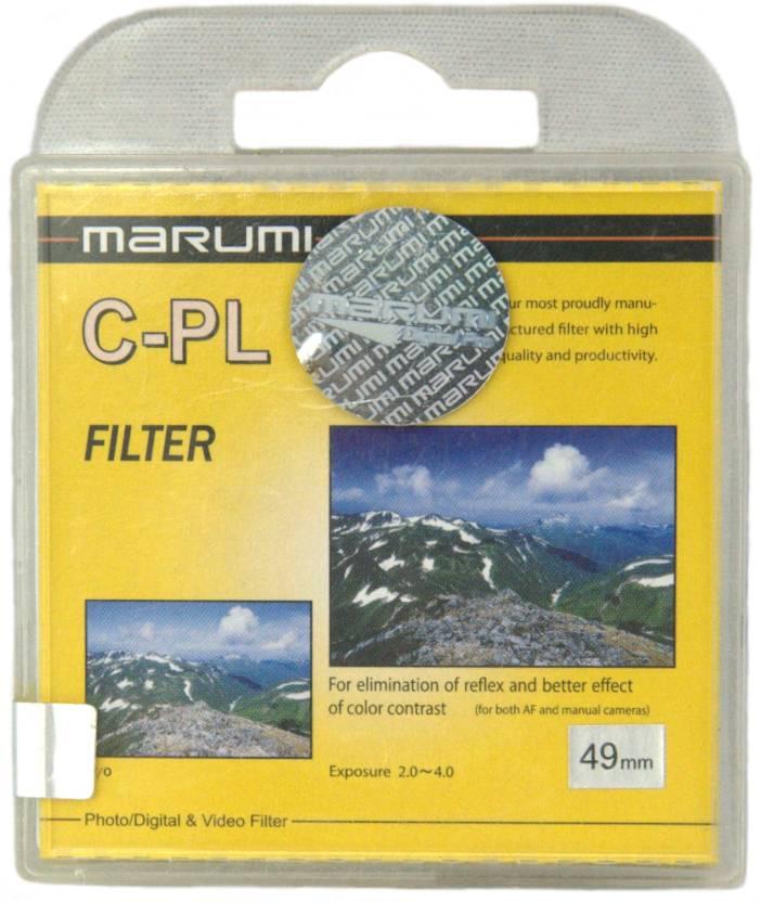 Marumi 49 mm Circular Polarizer Polarizing Filter (CPL)