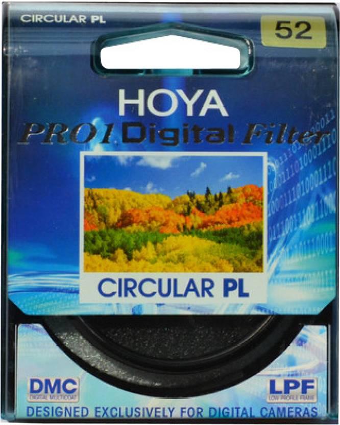 Hoya 52 mm Pro1 Digital Circular Polarizer Polarizing Filter (CPL)