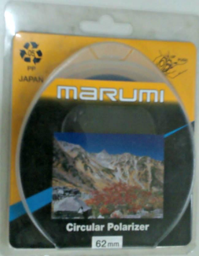 Marumi 62 mm Circular Polarizer Polarizing Filter (CPL)