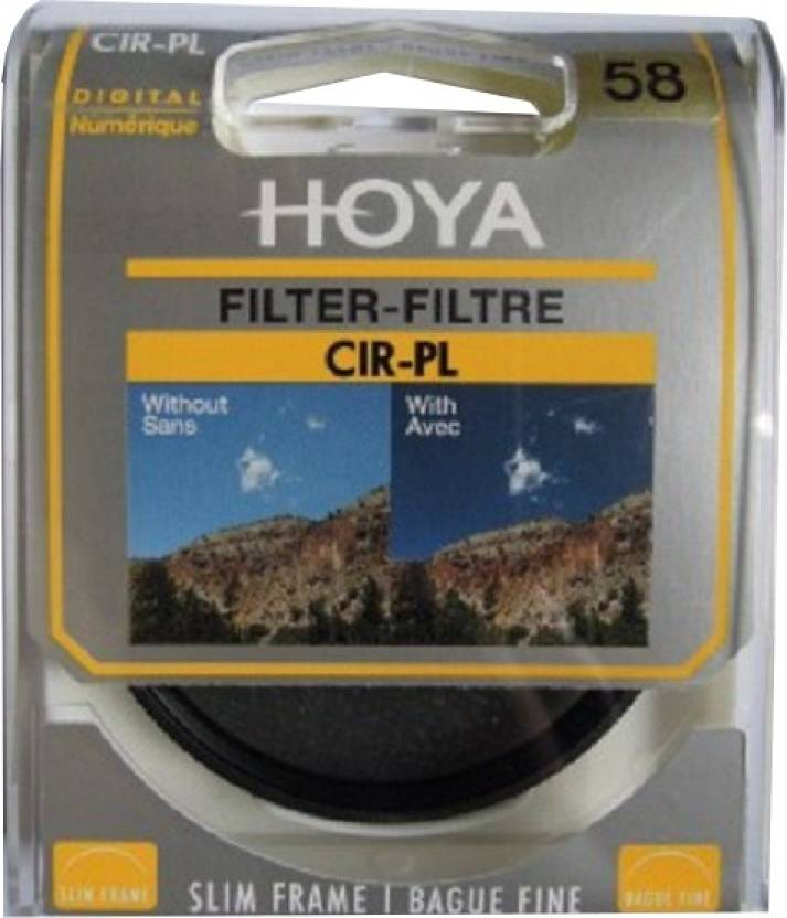 Hoya Digital PL-CIR Slim 58 mm Filter
