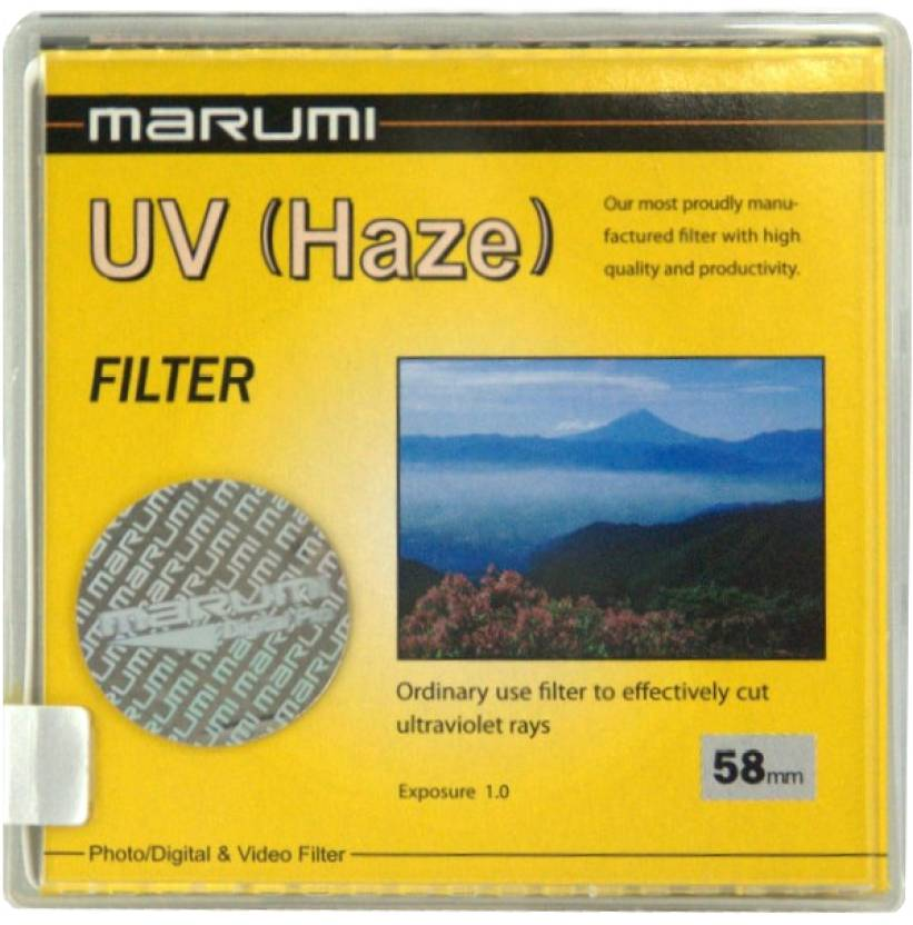 Marumi 58 mm Ultra Violet Haze UV Filter