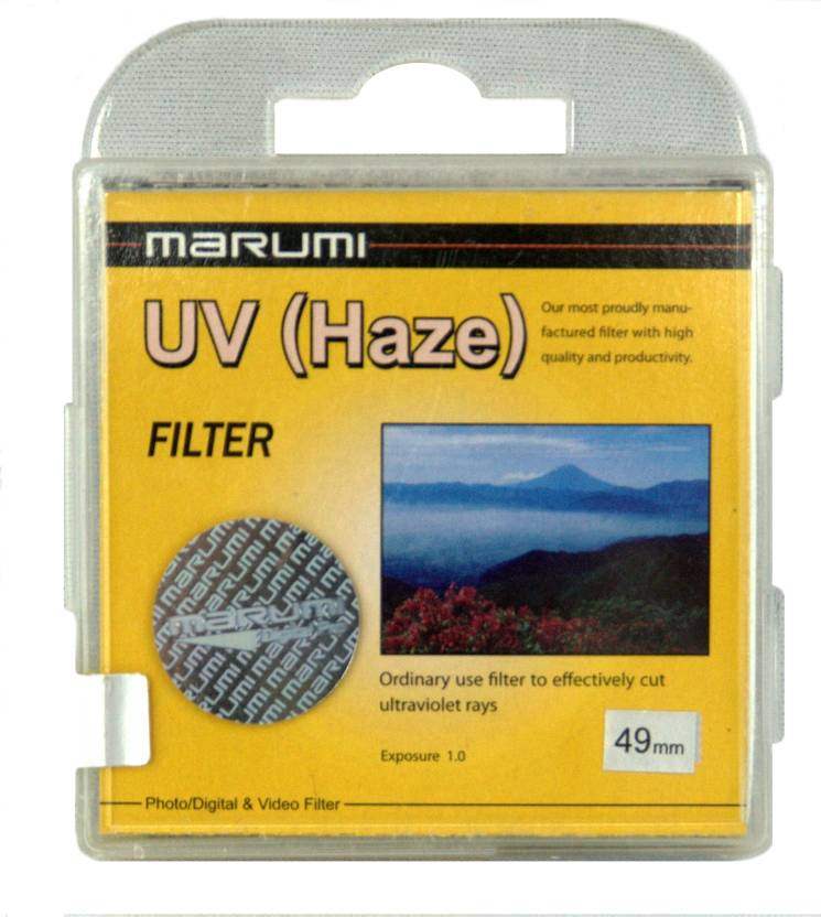 Marumi 49 mm Ultra Violet Haze UV Filter
