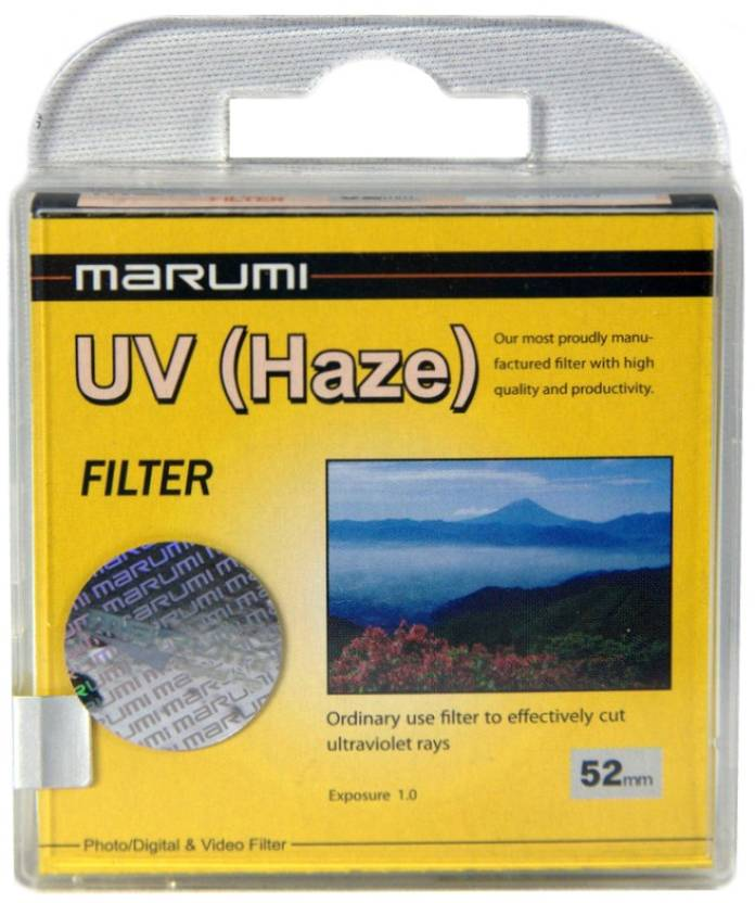 Marumi 52 mm Ultra Violet Haze UV Filter