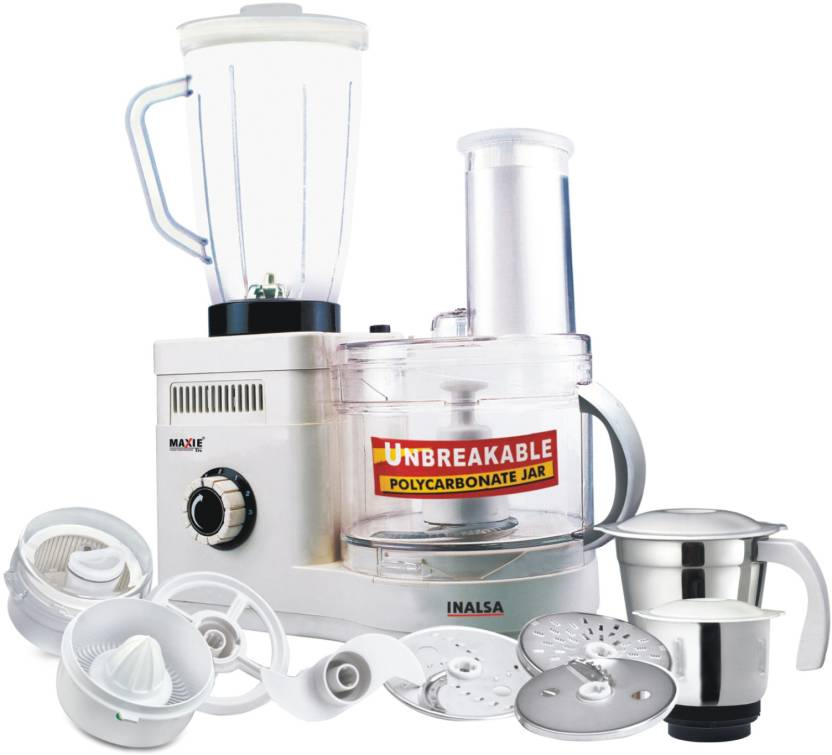 Inalsa Maxie Deluxe 600 W Food Processor