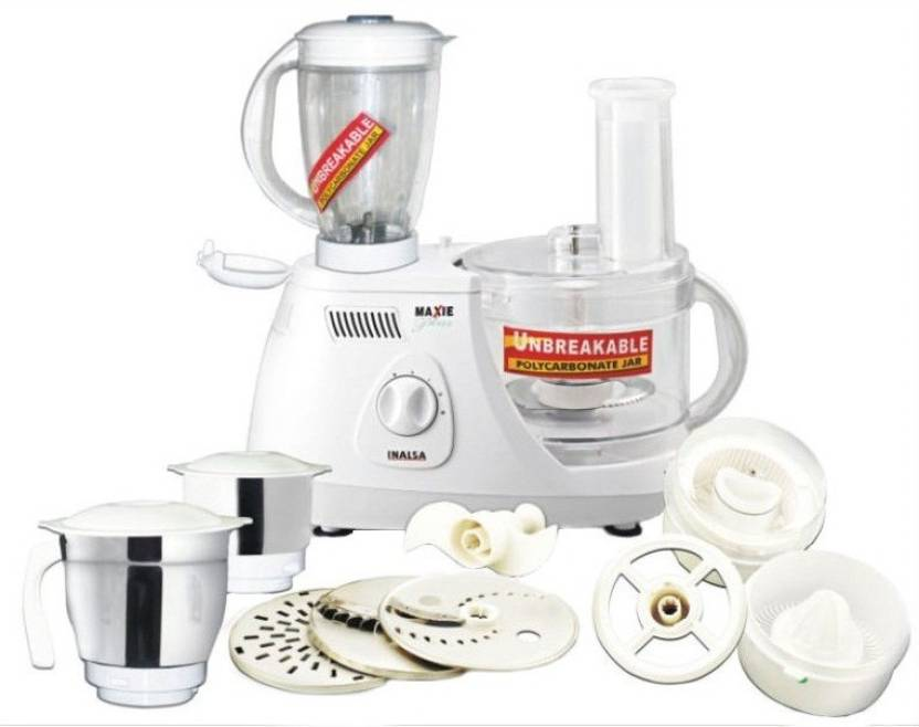 Inalsa Maxie Plus 650 W Food Processor