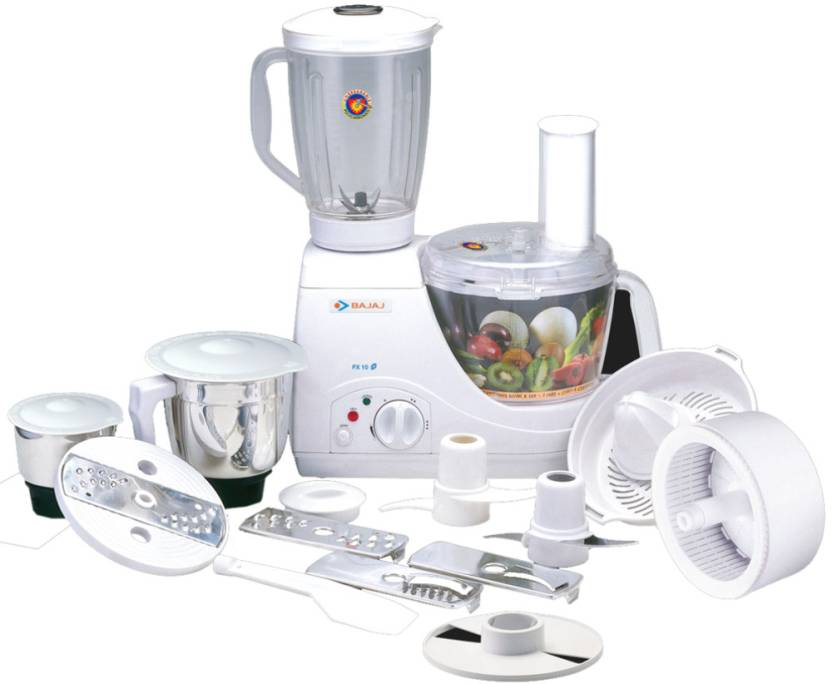 Bajaj Fx10 Food Factory 600 W Food Processor