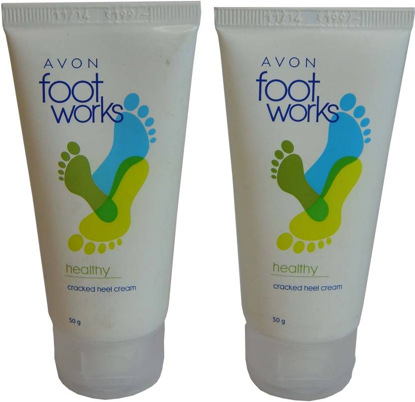 Avon Foot Work Cracked Heel Cream - Set of 2