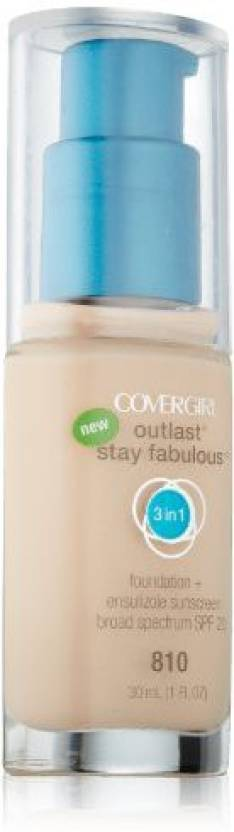 Cover Girl Outlast Stay Fabulous 3-in-1 Foundation - Price