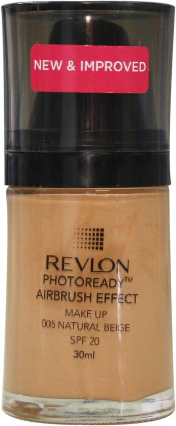 Revlon Photo Ready Air Brush Effect Make Up Spf 20 Natural Beige Foundation