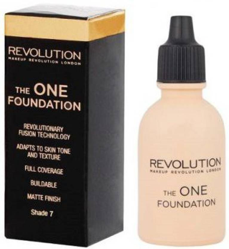 Makeup Revolution The One Foundation (Shade 7)