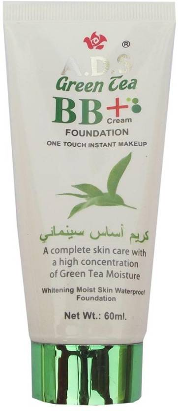 KASCN ADS HIGH CONCENTRATION OF GREEN TEA MOISTURE BB+CREAM FOR ALL SKIN TYPE Foundation