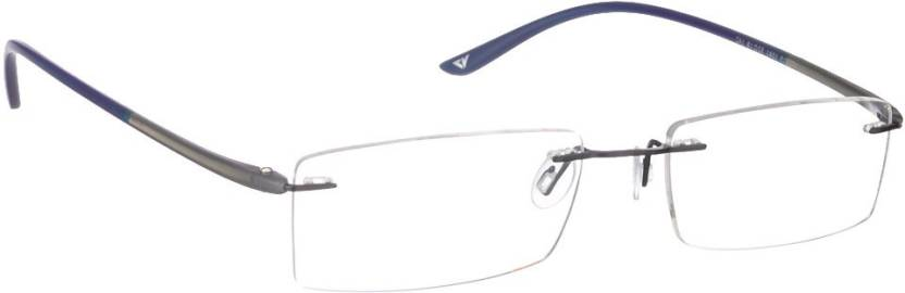 28eed9a207 Vincent Chase Rimless Rectangle Frame Price in India - Buy Vincent ...
