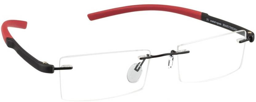 Vincent Chase Rimless Rectangle Frame Price in India - Buy Vincent ...