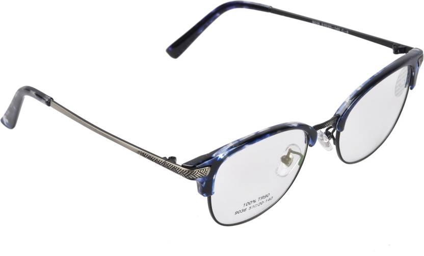 1a5c547eb1 IMagic Half Rim Oval Frame Price in India - Buy IMagic Half Rim Oval ...
