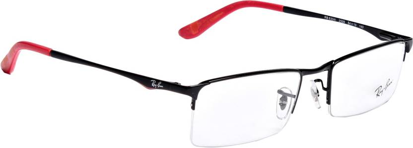 Ray-Ban Half Rim Wayfarer Frame Price in India - Buy Ray-Ban Half ...