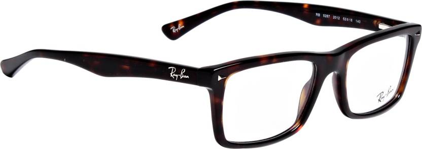 84c35f4bdf2 Ray-Ban Full Rim Wayfarer Frame Price in India - Buy Ray-Ban Full ...