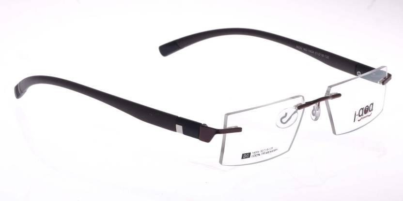 29e57c8f0b2 I-GOG Rimless Rectangle Frame Price in India - Buy I-GOG Rimless ...