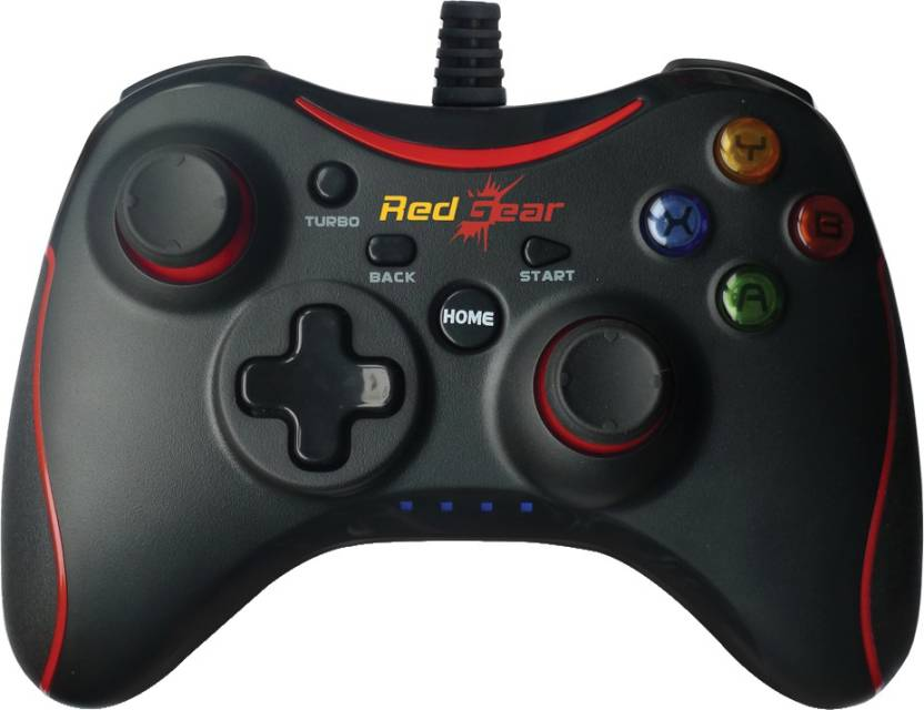 Flipkart Sports Days!! Upto 20% Off On Sports & Gaming Products By Flipkart | Red Gear Pro Series (Wired) Gamepad  (Black, For PC) @ Rs.1,049
