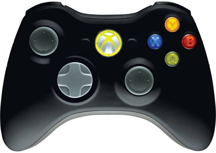 Microvison WIRED CONTROLLER FOR XBOX 360 Gamepad (Black, For Xbox 360)  Gamepad