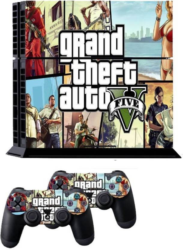 Hytech Plus Grand Theft Auto V (Gta5) Theme Skin Sticker Cover
