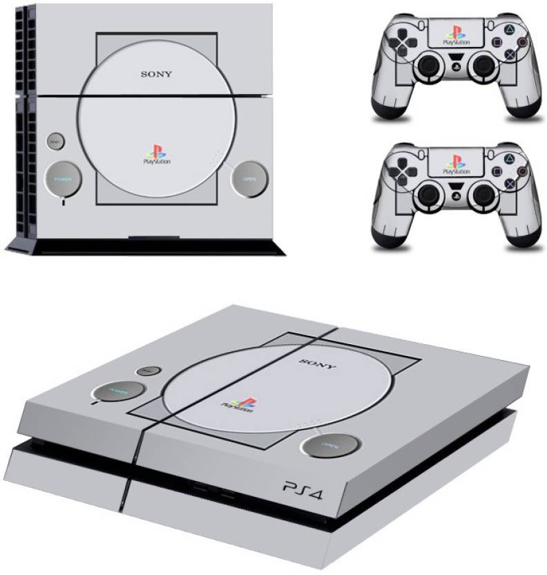 Al Pacino PS1 Theme Cover For Playstation 4 Console with 2