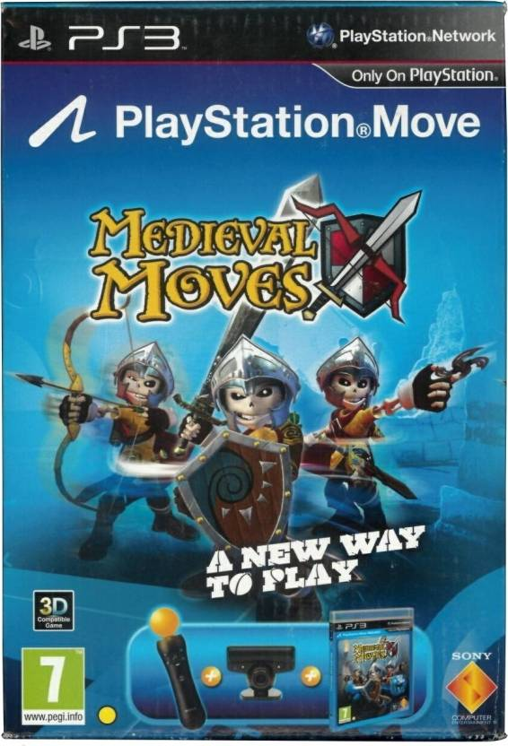 Sony PlayStation 3 (PS3) with Move Starter Pack (Medial Moves)