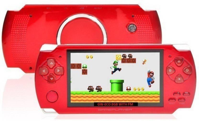 Gadget-Wagon ECO-1 8GB 4 3 Inches With FM Radio & 1 3 MP Camera (R ) 8 GB  with Contra, Mario, 10000 Games Inbuilt