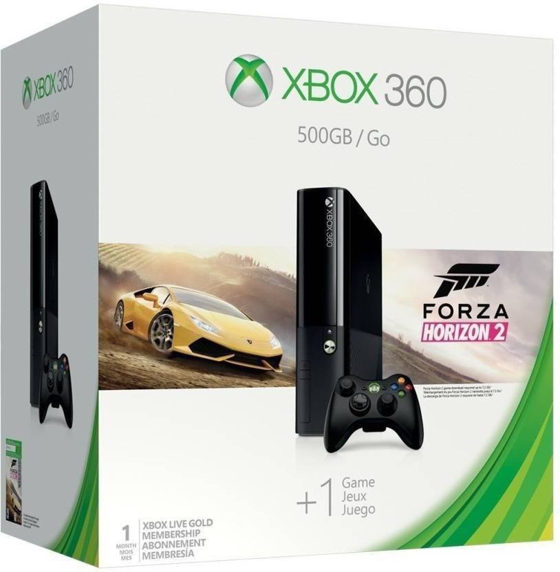 Xbox 360 500 GB Just @ Rs.13,990By Flipkart