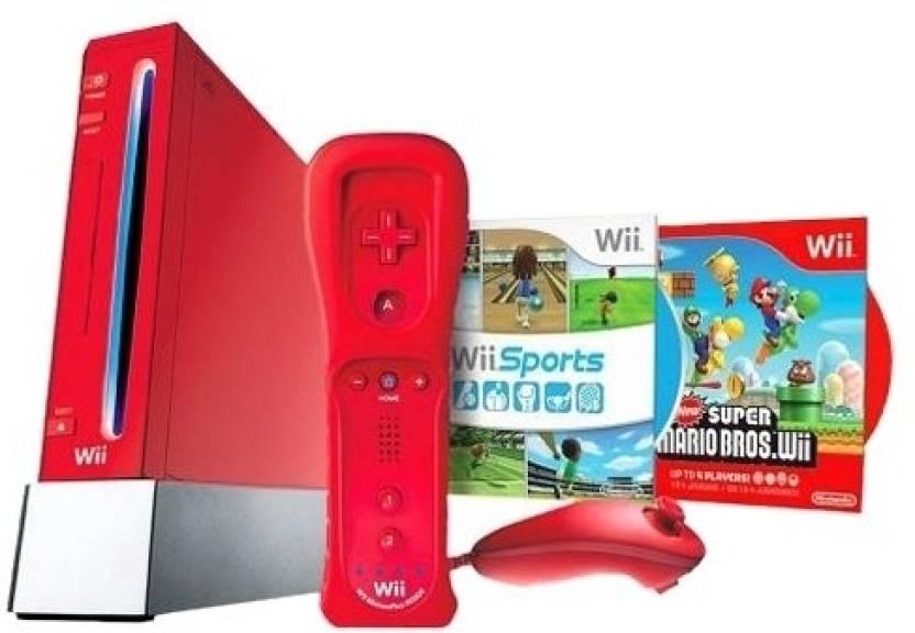 Nintendo Wii with Super Mario Bros