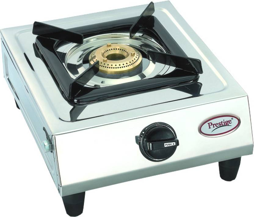 Prestige Prithvi Stainless Steel Manual Gas Stove