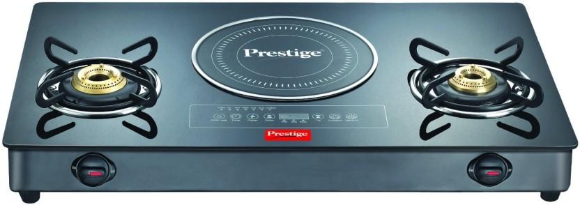 prestige hybrid cook top stainless steel glass manual gas stove rh flipkart com prestige induction cooktop manual prestige induction cooker manual