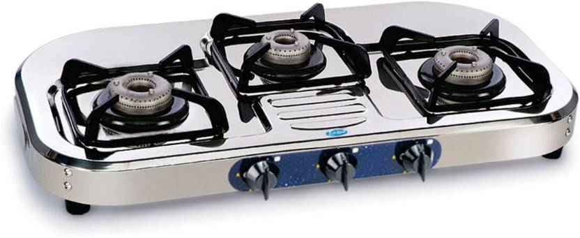 GLEN Stainless Steel Manual Gas Stove Price in India - Buy ...