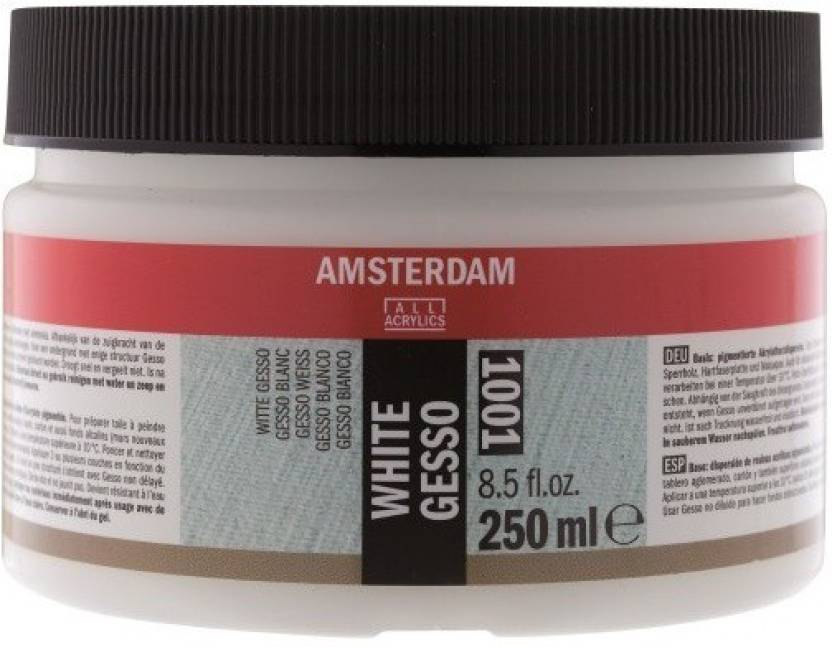 Royal Talens Amsterdam 1001 White Gesso For Temperas Pastels