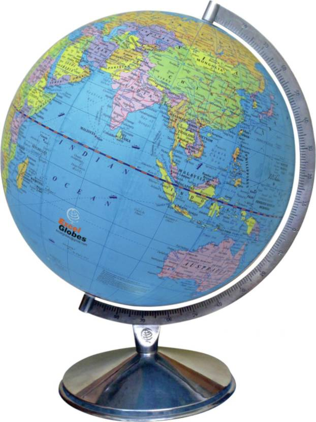 Excel Globe Excel Political Laminated Globe 12 Inch 30 Cms Dia